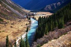 Chilik river in Kazakhstan Royalty Free Stock Image