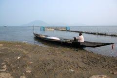 Fisherman at chilika rambha
