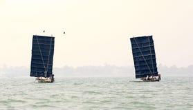 chilika rybaka hindusa jezioro Zdjęcie Royalty Free