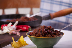 Chilin lurar Carne Royaltyfri Fotografi