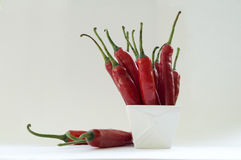 chilin pepprar red Royaltyfri Fotografi