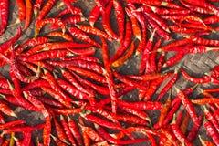 Chilin torkar arkivfoton