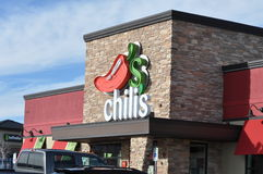 Chilis restaurant and sports bar Royalty Free Stock Images