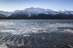Chilkat Inlet Freezing Up Royalty Free Stock Images