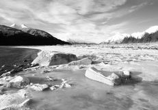 Chilkat Inlet Ice Stock Photo