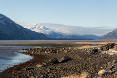 Chilkat Inlet in November Royalty Free Stock Photos