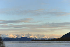 Chilkat River. Royalty Free Stock Images