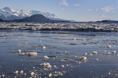 Chilkat River Ice Stock Photo