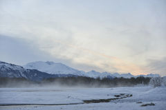 Chilkat River. Royalty Free Stock Image