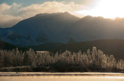 The Chilkat Valley  Royalty Free Stock Photos
