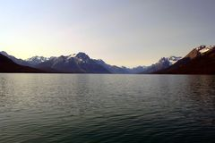 Chilko湖在加拿大 免版税库存照片