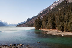 Chilkoot Lake in Spring Stock Image