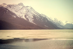 Chilkoot Lake in Spring Royalty Free Stock Images