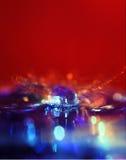 chill вода выплеска жары Стоковое Изображение RF