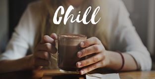 Chill Out Cool Chic Fresh Expression Inspire Concept Royalty Free Stock Photography