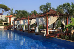 Chill out in the pool. Turkey. Belek Royalty Free Stock Image