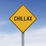 Chillax Stock Images