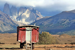 chille del paine torres 图库摄影