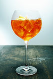 Chilled aperol spritz Stock Photo