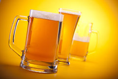Chilled Beer Royalty Free Stock Image