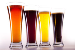 Chilled beer Royalty Free Stock Images