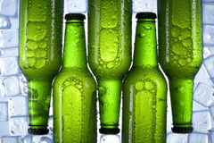 Chilled beer Stock Photography