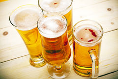 Chilled beer Stock Photos