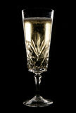 Chilled champagne in crystal glass Royalty Free Stock Image