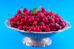 Chilled cherries Stock Photo