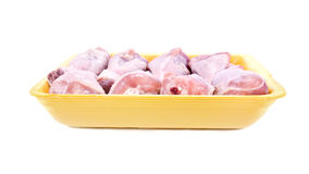 Chilled chicken drumsticks Stock Photos
