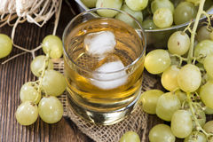 Chilled Grape Juice Royalty Free Stock Images