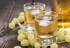 Chilled Grape Juice Royalty Free Stock Photos