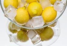 Chilled lemon,  dish Royalty Free Stock Photo