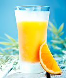 Chilled orange cocktail Royalty Free Stock Images