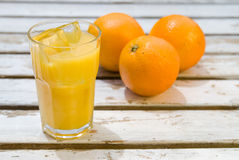 Chilled Orange Juice Stock Image