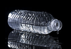 Chilled water bottle Royalty Free Stock Image