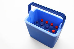 Chilled Water in a Box Royalty Free Stock Image