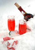 Chilled Wine Stock Image
