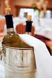Chilled Wine Royalty Free Stock Images