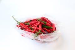 Chilles rossi Fotografia Stock