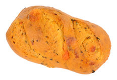 Chilli And Cheese Bloomer Bread Loaf. Chilli and cheese flavoured crusty bloomer loaf Royalty Free Stock Photos