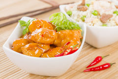Chilli Chicken Royalty Free Stock Image