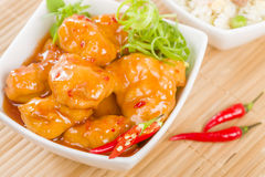 Chilli Chicken Royalty Free Stock Photo