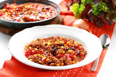 Chilli con carne Stock Photo