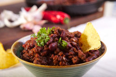Chilli Con Carne Royalty Free Stock Photo