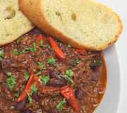 Chilli con Carne Royalty Free Stock Photos