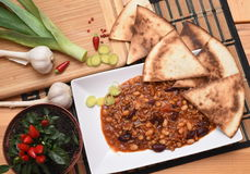 Chilli con carne Stock Images