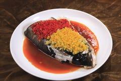 Chilli fish head Stock Photos