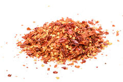 Chilli flakes Stock Images