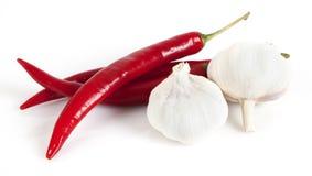 Chilli and garlic Stock Photography